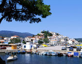 Skiathos port — Stock Photo