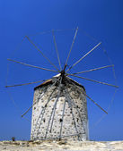 Derelict windmill — Stock Photo