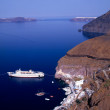 Stock Photo: Santorini port