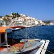 Skiathos port — Stock Photo