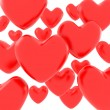 Royalty-Free Stock Photo: Red hearts