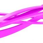 Pink ribbons — Stock Photo
