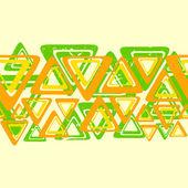 Colour triangles — Stock Vector