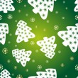 Festive green background — Stockvektor