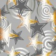 Gold stars — Stock Vector
