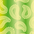 Royalty-Free Stock Vectorielle: Green geometrical pattern