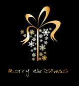 Casella presente di Natale — Vettoriale Stock