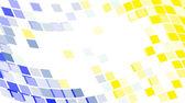 Abstracte ronde pixel punten mozaïek backg — Stockvector