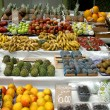 Stock Photo: Fruits market