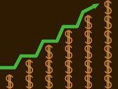 éxito financiero — Foto de Stock