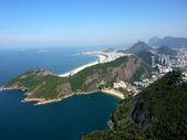 Flight view over Rio de Janeiro — Stock Photo