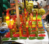 Pepper market — Stock Photo