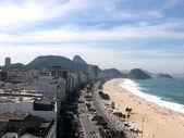Vista de Copacabana — Fotografia Stock