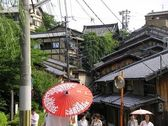 Japanese old roofs — Stock Photo