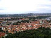 Bird's view of the Prague — Stock Photo