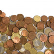 Royalty-Free Stock Photo: Euro coins on the table