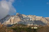 Ai-Petry mountain at winter. Crimea — Stock Photo