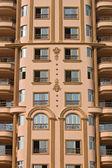 Fasad av nya egyptiska hus — Stockfoto