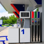 Petrol Station. — Stock Photo