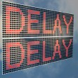 Delay — Stock Photo
