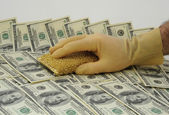 Money Laundering. — Stock Photo