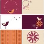 Birds designs — Stock Vector