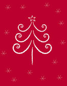 Weihnachtsbaum — Stockvektor
