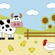 Royalty-Free Stock Vector Image: Farm animals