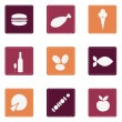 Food icons — Stock Vector #1093863