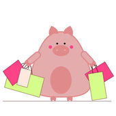 Shopping — Vector de stock