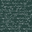 Math Formulas — Stockvectorbeeld