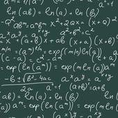 Math Formulas — Stock Vector