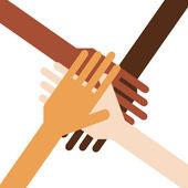 Teamwork — Stock Vector
