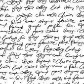 Fake handwriting — Stock Vector