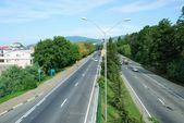 Sochi. Motorway — Stock Photo