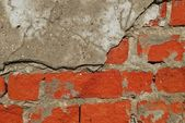 Structure of old bricks — Stock Photo