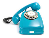 Telephone with the taken off handset — Stock Photo