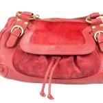Red purse — Стоковое фото