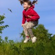 Royalty-Free Stock Photo: Jumping kid