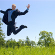 Jumping man — Stock Photo