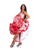 Latina dancer — Stock Photo