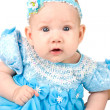 Adorable babygirl — Stockfoto
