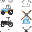 Stock Vector: Agricultural Technology