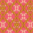 Royalty-Free Stock Vektorgrafik: Seamless bright retro wallpaper