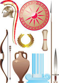 Ancient Greece set — Stock Vector