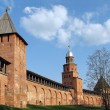 Novgorod citadel — Stock Photo