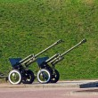 Royalty-Free Stock Photo: Two cannons