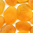 Dried apricots, texture — Stock Photo