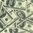 Stock Photo: Background of hundred dollar bills