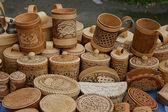 Recuerdos de madera — Foto de Stock